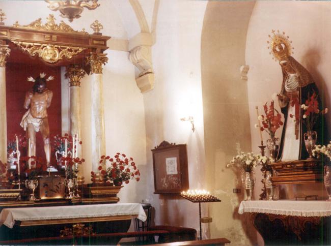 En el mes de mayo de 1985, se celebra por primera vez una Sabatina dedicada a María Stma. de la Caridad, que con el paso de los años se transforma en una Fiesta dedicada a Nuestra Titular.