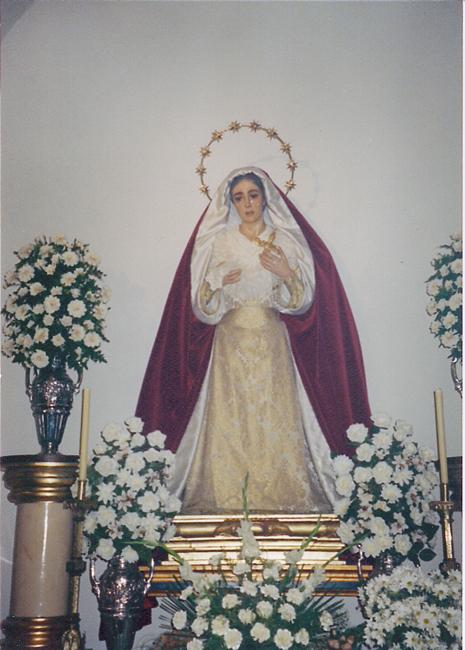 En el año 2001 y en el mes de octubre, finaliza la restauración de la imagen de nuestra Señora que es trasladada a San Isidoro.