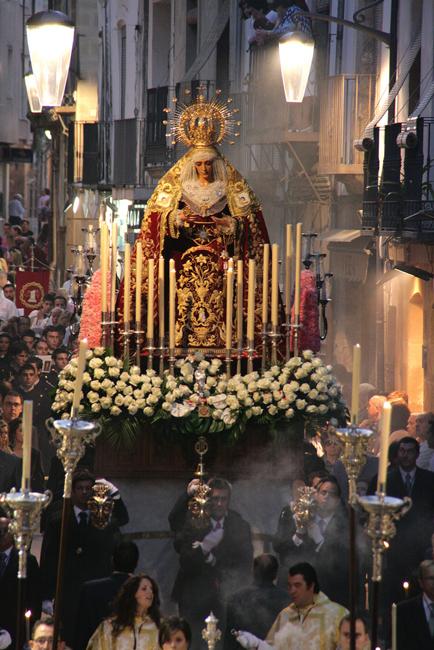 El 19 de junio de 2010 celebramos la Procesión Extraordinaria que conmemoraba el 50 Aniversario de la bendición de María Stma. de la Caridad, donde se hizo estación de gloria en la Iglesia de San Pablo ante Jesús Sacramentado y la Stma. Virgen Guadalupe, Patrona de nuestra ciudad.
