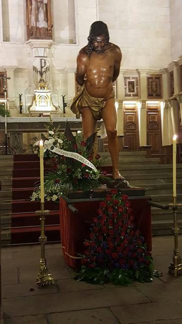En abril de 2017, se celebró con motivo del 75º Aniversario de la llegada a Úbeda de Ntro. Señor en la Columna un acto conmemorativo en la iglesia de San Isidoro.