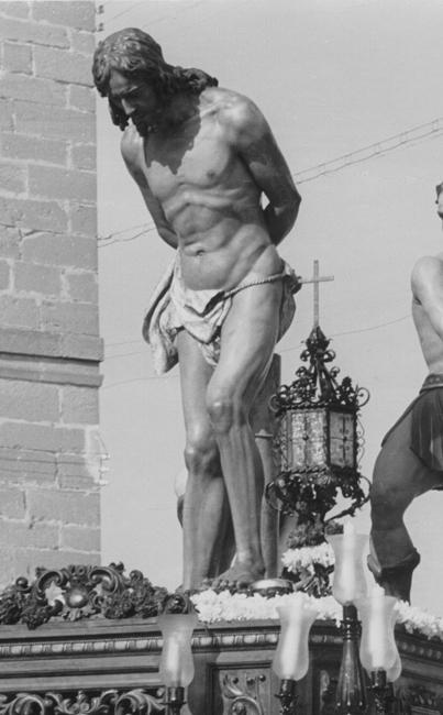 Imagen del Cristo en el año 1950.