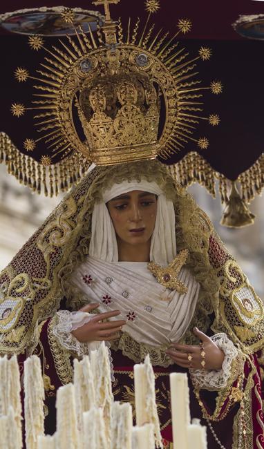 María Stma. de la Caridad en la Semana Santa de 2015
